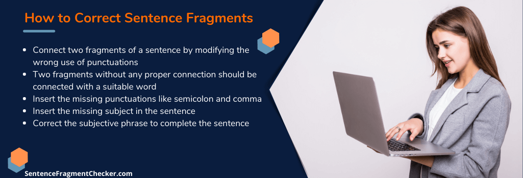 tips on how to correct fragments